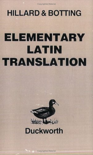 Elementary Latin Translation 9780715623183