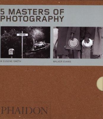Five Masters of Photography - Box Set of 5 9780714853673