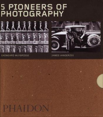 Five Pioneers of Photography - Box Set of 5 9780714853666
