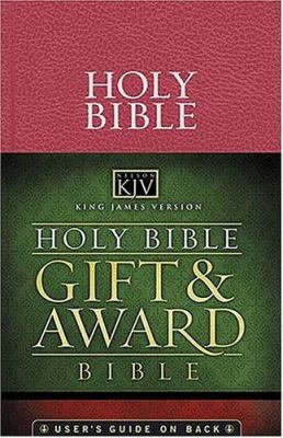 Gift and Award Bible-KJV 9780718009342