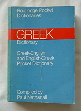 Greek Dictionary: Greek-English and English-Greek Pocket Dictionary
