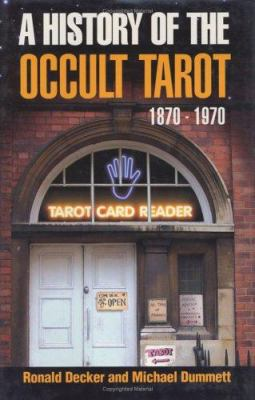 History of the Occult Tarot 9780715631225