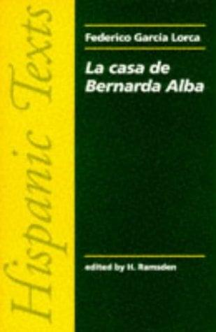 La Casa de Bernarda Alba 9780719009501
