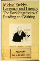 Language and Literacy: The Sociolinguistics of Reading and Writing