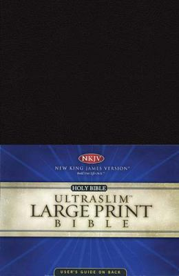 Large Print Ultraslim Bible-NKJV 9780718010621