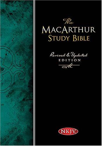 MacArthur Study Bible-NKJV 9780718018993