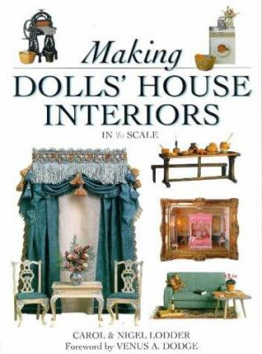 Making Dolls' House Interiors in 1/2 Scale 9780715306154