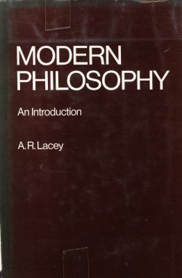 Modern Philosophy, an Introduction 9780710009357