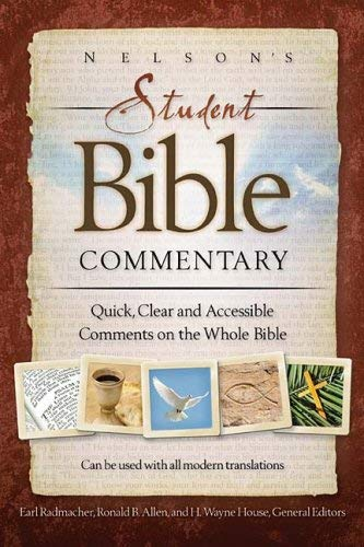 Nelson's Student Bible Commentary: Quick, Clear and Accessible Comments on the Whole Bible 9780718024956