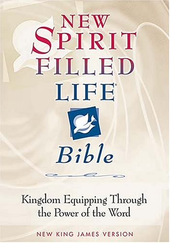New Spirit-Filled Life Bible-NKJV: Kingdom Equipping Through the Power of the Word 9780718001483