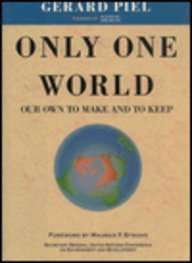 Only One World: Our Own to Make and to Keep 9780716723165