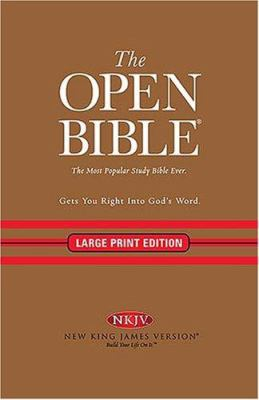 Open Bible-NKJV-Large Print 9780718018108