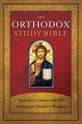 Orthodox Study Bible-OE-With Some NKJV: Ancient Christianity Speaks to Today's World 9780718003593