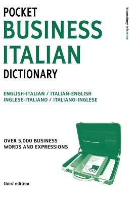 Pocket Business Italian Dictionary 3ed (Large Print) 9780713677362
