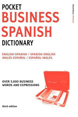 Pocket Business Spanish Dictionary 2ed (Large Print) 9780713677348