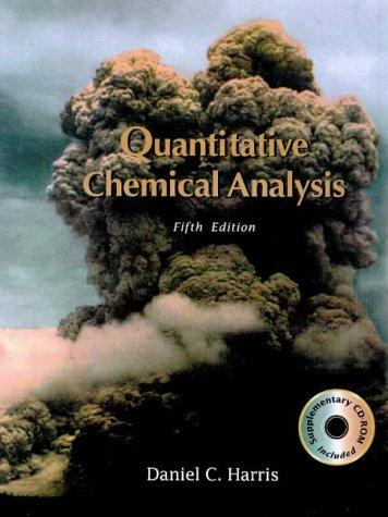 Quantative Chemical Analysis 5e & CD ROM 9780716728818