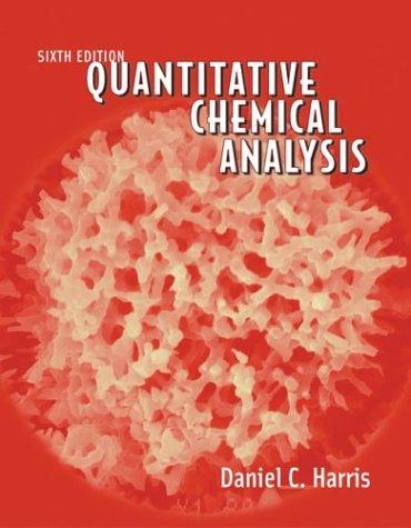 Quantitative Chemical Analysis 9780716744641