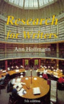 Research for Writers 9780713642698