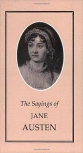 Sayings of Jane Austen 2617010