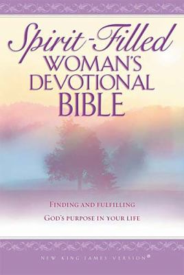 Spirit-Filled Woman's Devotional Bible-NKJV 9780718006587