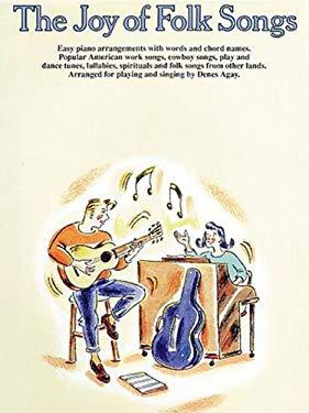The Joy of Folk Songs: Piano Solo 9780711901247