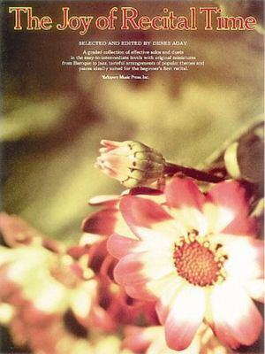 The Joy of Recital Time: Piano Solo 9780711901353