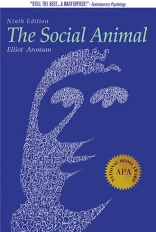 an analysis of the society today and the social animal by elliot aronson The book social animal is published by worth publishers inc,us the isbn of this book is 9781429233415 and the format is paperback / softback the publisher has not provided a book description for the social animal by elliot aronson.