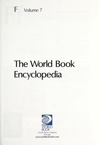 The World Book Encyclopedia 2008