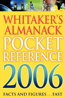 Whitakers Pocket Reference 2006 (Large Print) 9780713676433