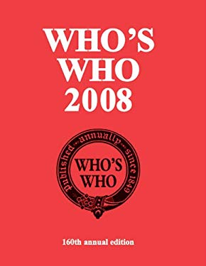 Who's Who 2008 9780713685558