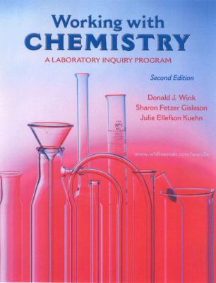 Working with Chemistry: A Laboratory Inquiry Program 9780716796077