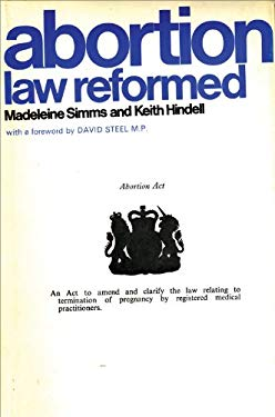 Abortion Law Reformed 9780720600063