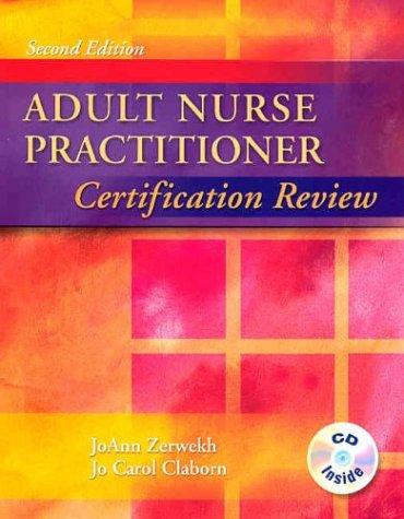 Adult Nurse Practitioner Certification Review 9780721682525