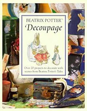 Beatrix Potter Decoupage Book 9780723244455