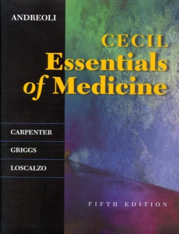 Cecil Essentials of Medicine 9780721681795