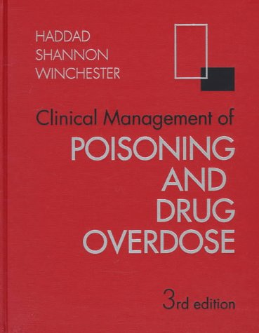 Clinical Management of Poisoning and Drug Overdose 9780721664095