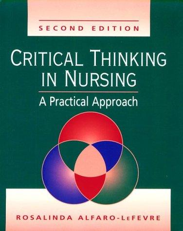 Critical Thinking in Nursing 9780721682778