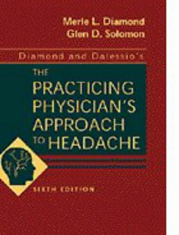 Diamond and Dalessio's the Practicing Physician's Approach to Headache 9780721669991
