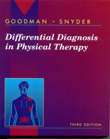 Differential Diagnosis in Physical Therapy 9780721681849