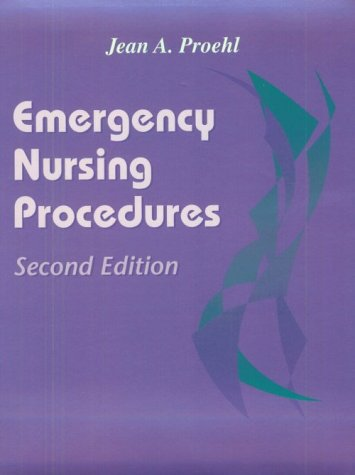 Emergency Nursing Procedures 9780721675893