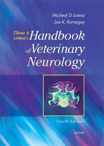 Handbook of Veterinary Neurology 9780721689869