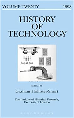 History of Technology: Volume 20 9780720123760