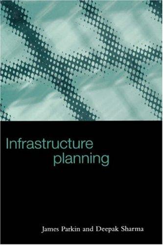 Infrastructure Planning 9780727727473