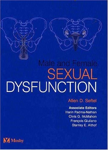 Male and Female Sexual Dysfunction 9780723432661