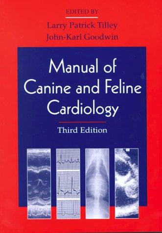 Manual of Canine and Feline Cardiology 9780721677217