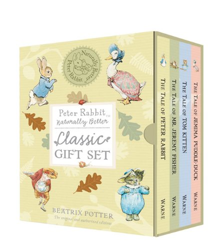 Peter Rabbit Naturally Better Classic Gift Set 9780723264231