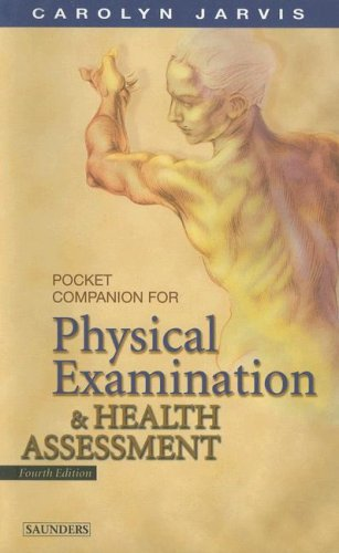 Pocket Companion for Physical Examination and Health Assessment 9780721697741