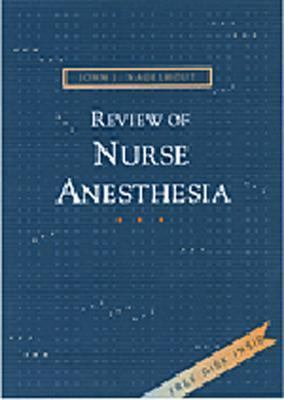 Review of Nurse Anesthesia [With CDROM] 9780721675312
