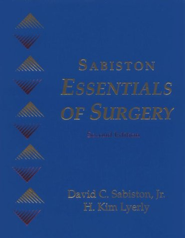 Sabiston Essentials of Surgery 9780721650197