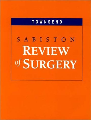 Sabiston Review of Surgery 9780721692586